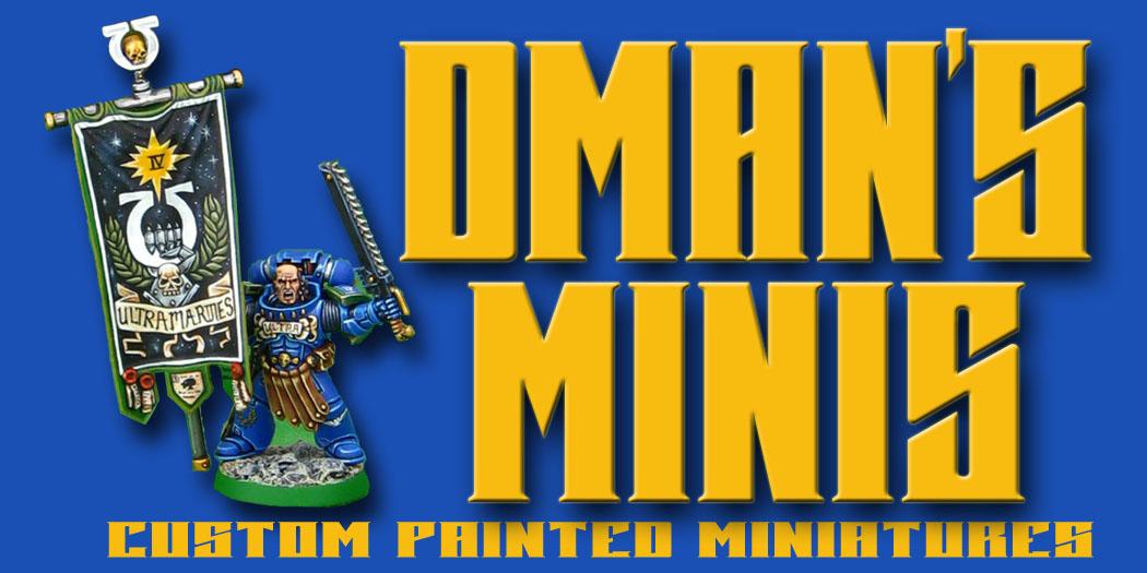 Dman's Minis - Premier Custom Miniatures Painting